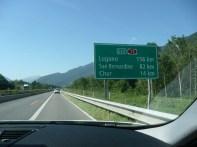 Back in Switzerland after a short haul in Liechtenstein