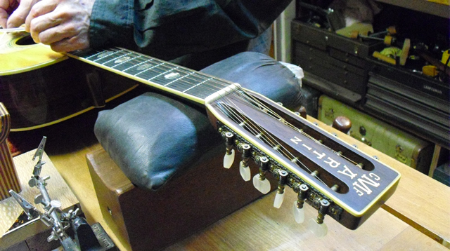 repair on Martin 12 string guitar