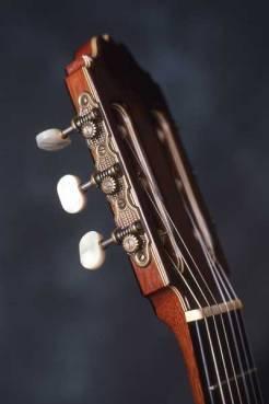 Classical guitar head by Arnie Gamble.