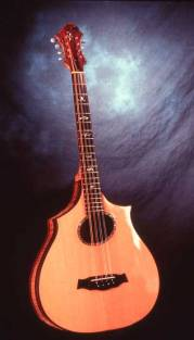 Eight string bouzouki by Arnie Gamble.