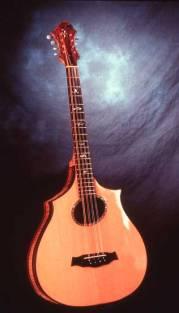 Eight string bouzouki by Arnie Gamble.