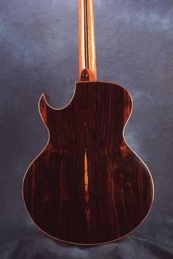 Arnie Gamble string steel cutaway guitars.