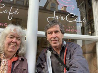 Arnie & Erin in Kinsale, Ireland