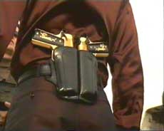 oooh.. the word 'Pimp' doesn't even begin to cover a holster like that.