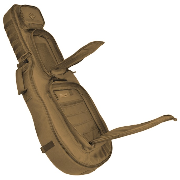 hazard 4 battle axe guitar shaped padded rifle case. Black Bedroom Furniture Sets. Home Design Ideas