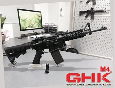 GHK-m4-GBB-airsoft