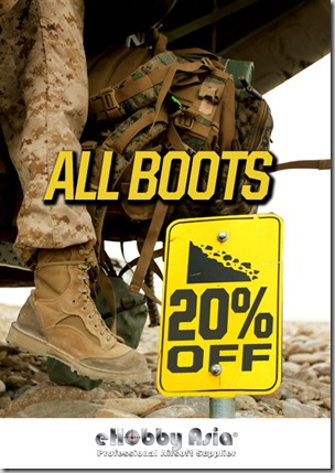 Boots 20% Off Promotion - Landing Page