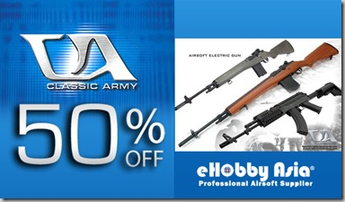 Classic Army 50% Off - Facebook