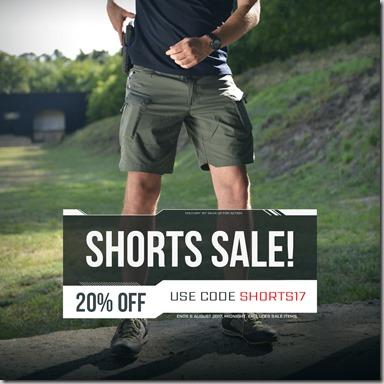 Shorts Sale 2017 Instagram