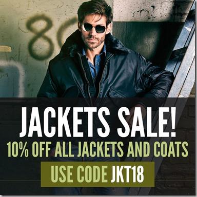 Jackets Sale 2018 Instagram