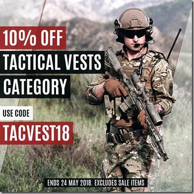 Tactical Vests Sale 2018 Instagram
