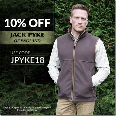 Jack Pyke Sale 2018 Instagram