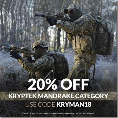 Kryptek Mandrake Sale 2018 Instagram2