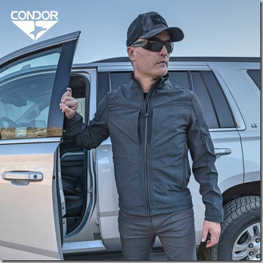 Condor Intrepid Softshell Jacket insta
