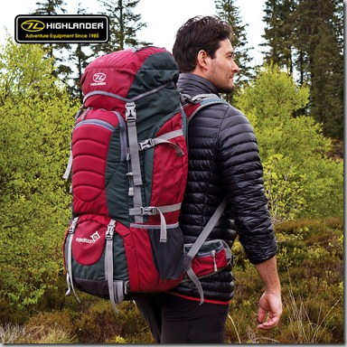 Highlander Expedition 65 Rucksack insta