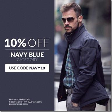 Navy Blue Sale 2018 Instagram