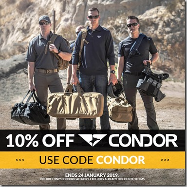 Condor Sale 2019 Instagram