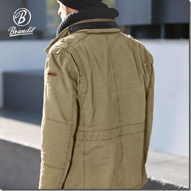 Brandit Britannia Jacket Olive insta