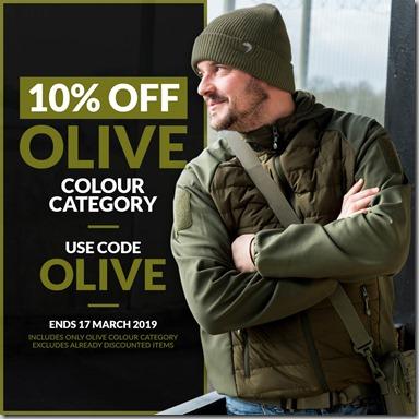 Olive Sale 2019 Instagram
