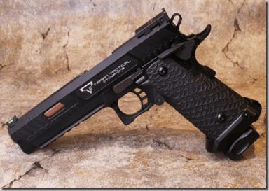 EMG x STI/TTI licensed JW3 2011 Combat Master GBB pistol