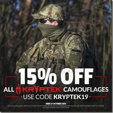 Kryptek Sale 2019 Instagram