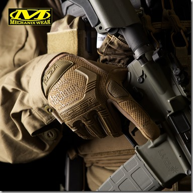Mechanix Wear M-Pact Gloves Coyote insta