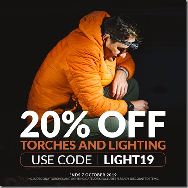 Torches and Lighting Sale 2019 Instagram