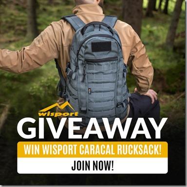 Wisport Caracal Giveaway 2019 Instagram