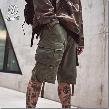 Brandit Savage Vintage Shorts insta 1