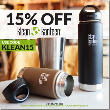 Klean Kanteen Sale 2020 Instagram
