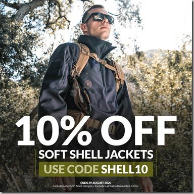Soft Shell Sale 2020 Instagram