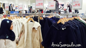 Baju Musim Sejuk Berkualiti Pada Harga Mampu Milik di Uniqlo