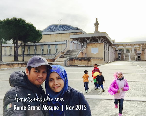 Rome Grand Mosque Masjid Besar Italy