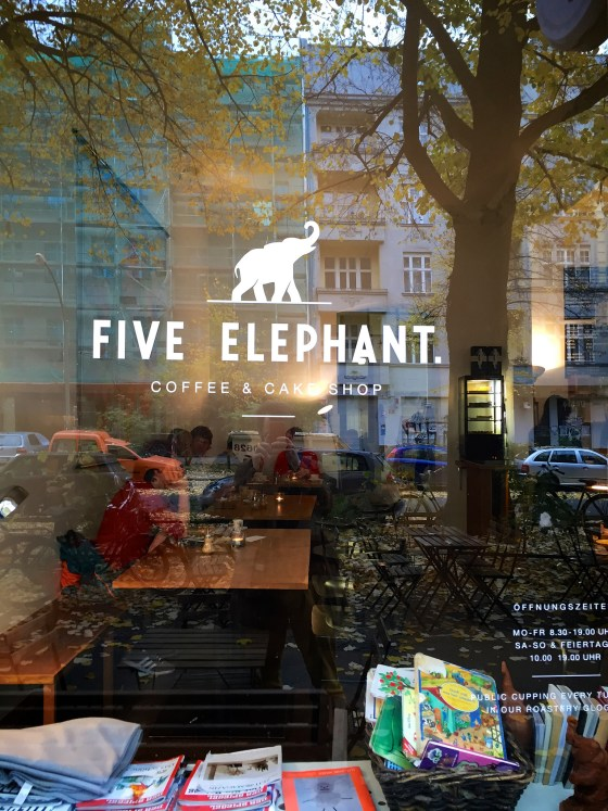 Five Elephant í Berlín