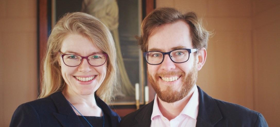 Arni Svanur Danielsson & Kristin Þorunn Tomasdottir