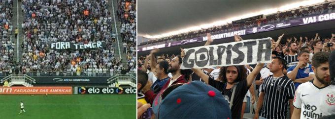 As histórias de futebol e lutas se confundem no Corinthians.