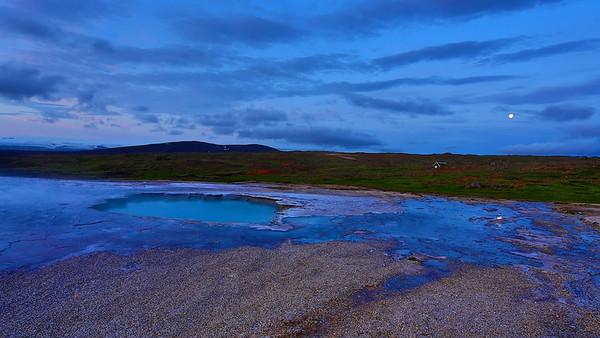 Hot Springs in Hveravellir, Island