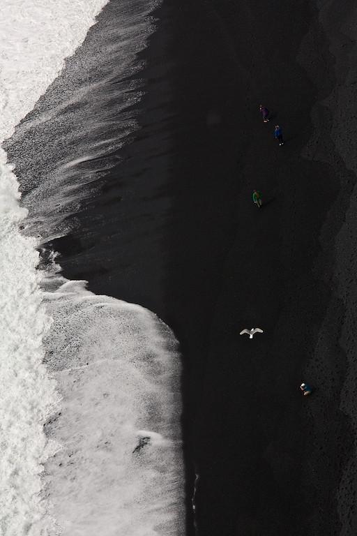Am Strand - Garðar Beach, Vík í Mýrdal, Island