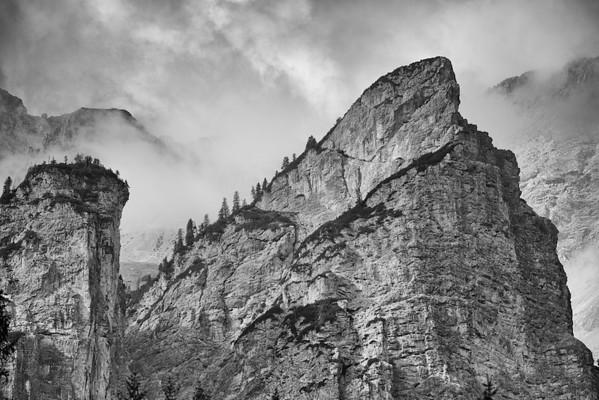 Altpragser Tal - Dolomiten, Südtirol, Italien