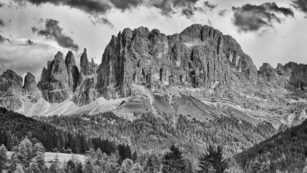 Rosengarten - Dolomiten, Südtirol, Italien