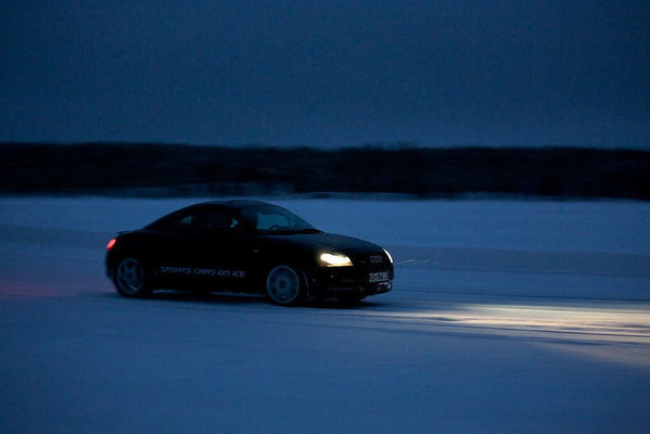 Sports Cars on Ice