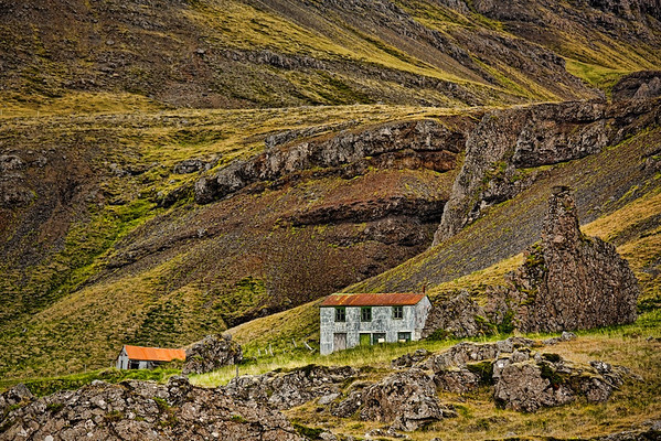 Hof in den Ostfjorden - Island