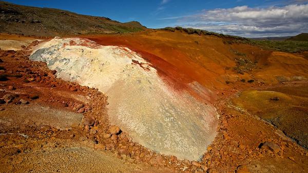 Geothermalgebiet Seltún, Islan