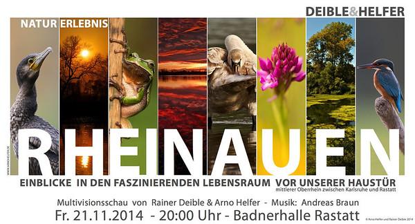 Multivisionsschau von Arno Helfer und Rainer Deible