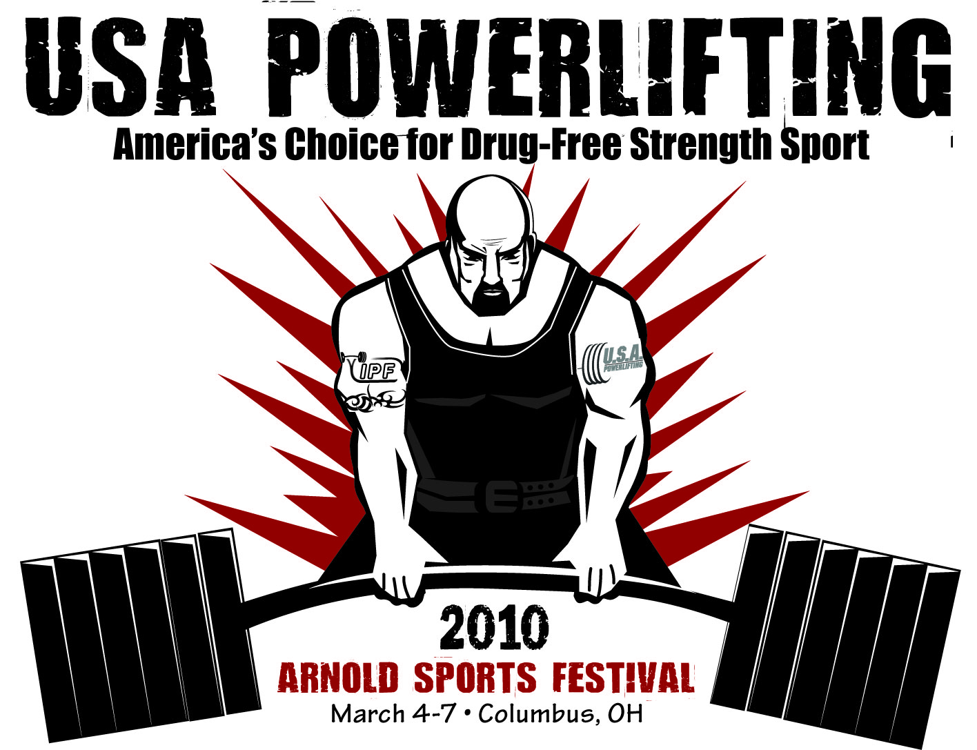 Arnold Sports Festival Logo Contest | USA POWERLIFTING