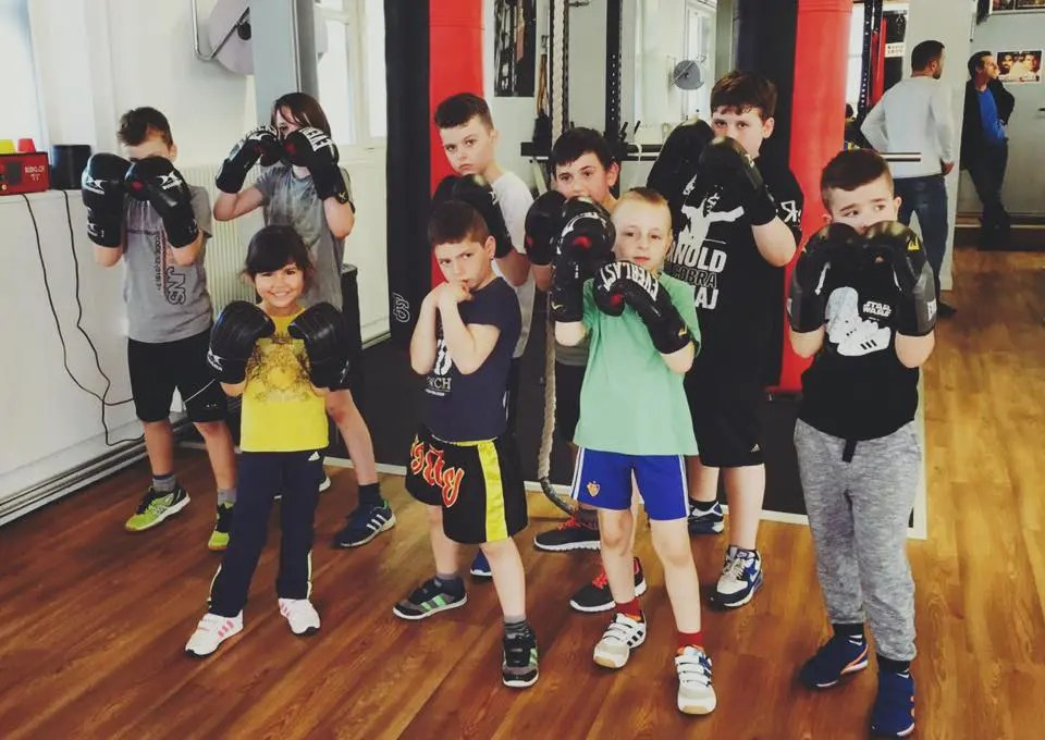 Kinder Training bei Arnold Boxfit Pratteln