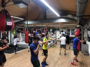 BOXFIT Training macht immer Spass und macht Fit