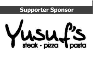 Yusuf's Steak Pizza Pasta