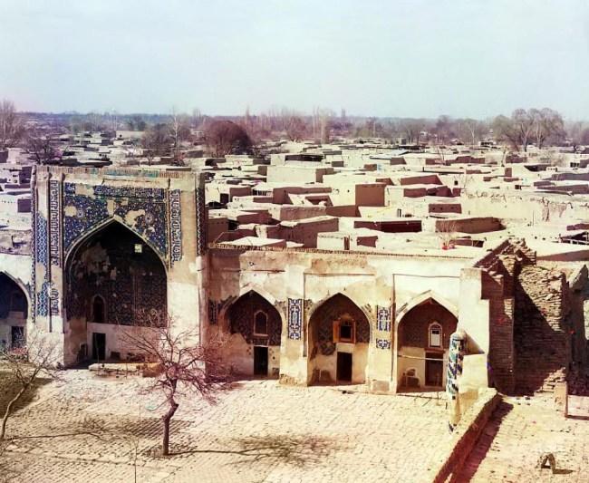 Widok na Samarkandę