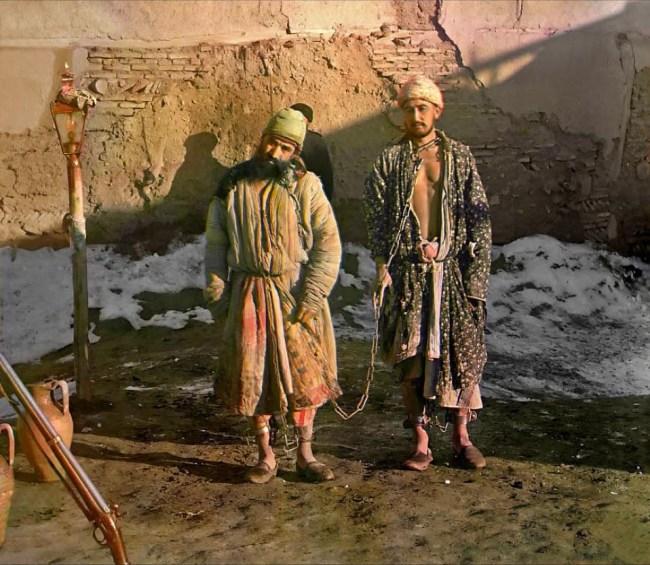 Dwóch więźniów, Buchara